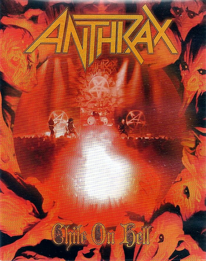 DVD - ANTHRAX - CHILE ON HELL