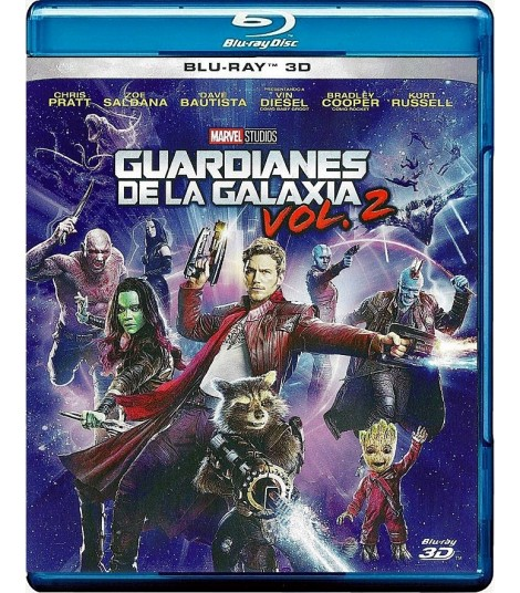 3D - GUARDIANES DE LA GALAXIA (VOLUMEN 2) (*)