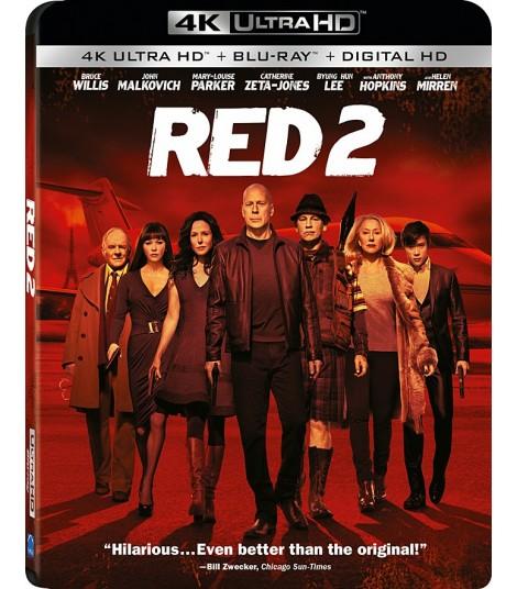 4K UHD - RED 2 (RETIRADO EXTREMADAMENTE PELIGROSO)