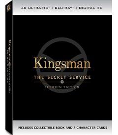 4K UHD - KINGSMAN (EL SERVICIO SECRETO) (EDICIÓN PREMIUM DE COLECCIÓN)