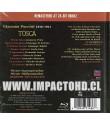 PUCCINI - TOSCA (EDICIÓN ESPECIAL DIGIPACK BLU-RAY AUDIO)