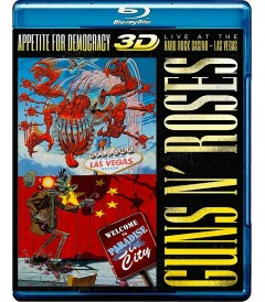 3D - GUNS N' ROSES (APPETITE FOR DEMOCRACY LIVE AT THE HARD ROCK CASINO LAS VEGAS)