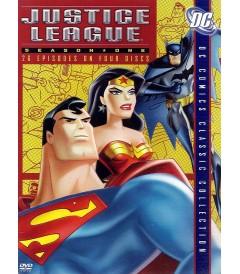 DVD - LIGA DE LA JUSTICIA - 1° TEMPORADA (COLECCIÓN CLÁSICA DC)