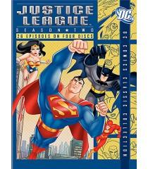 DVD - LIGA DE LA JUSTICIA - 2° TEMPORADA (COLECCIÓN CLÁSICA DC)