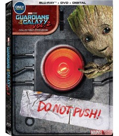 GUARDIANES DE LA GALAXIA (VOLUMEN 2) (EDICIÓN EXCLUSIVA STEELBOOK BEST BUY) (MCU)