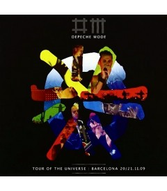 DVD - DEPECHE MODE - TOUR OF THE UNIVERSE (LIVE IN BARCELONA)