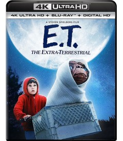 4K UHD - E.T. EL EXTRATERRESTRE