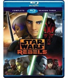 STAR WARS REBELDES - 3° TEMPORADA COMPLETA