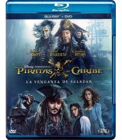 PIRATAS DEL CARIBE (LA VENGANZA DE SALAZAR) (BD+DVD)