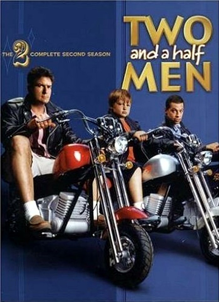 DVD - TWO AND A HALF MEN - 2° TEMPORADA COMPLETA