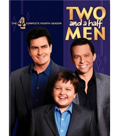 DVD - TWO AND A HALF MEN - 4° TEMPORADA COMPLETA