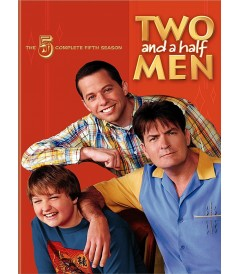 DVD - TWO AND A HALF MEN - 5° TEMPORADA COMPLETA