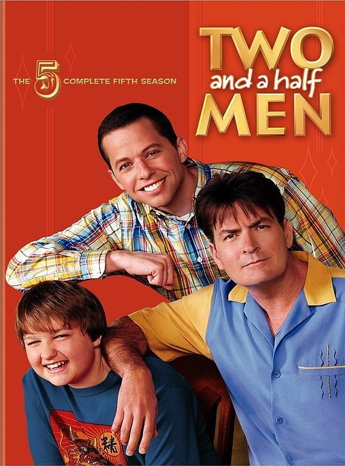 DVD - TWO AND A HALF MEN - 5° TEMPORADA COMPLETA