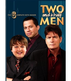 DVD - TWO AND A HALF MEN - 6° TEMPORADA COMPLETA