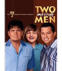 DVD - TWO AND A HALF MEN - 7° TEMPORADA COMPLETA