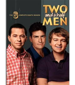 DVD - TWO AND A HALF MEN - 8° TEMPORADA COMPLETA