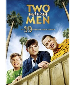DVD - TWO AND A HALF MEN - 10° TEMPORADA COMPLETA