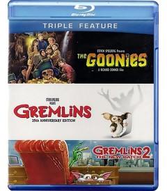 LOS GOONIES / GREMLINS / GREMLINS 2 (PACK TRIPLE)