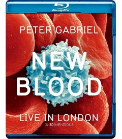 3D - PETER GABRIEL - NEW BLOOD (LIVE IN LONDON) (VERSIÓN UK)