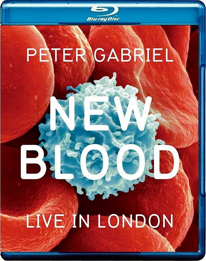 PETER GABRIEL - NEW BLOOD (LIVE IN LONDON) (VERSIÓN UK)