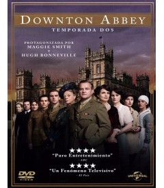 DVD - DOWNTON ABBEY (TEMPORADA 2)
