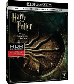 4K UHD - HARRY POTTER Y LA CÁMARA SECRETA (AÑO 2)
