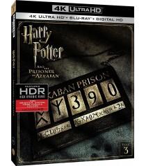4K UHD - HARRY POTTER Y EL PRISIONERO DE AZKABAN (AÑO 3)