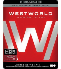 4K UHD - WESTWORLD - 1° TEMPORADA (EDICIÓN LIMITADA STEELBOOK)