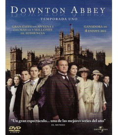 DVD - DOWNTON ABBEY (TEMPORADA 1)
