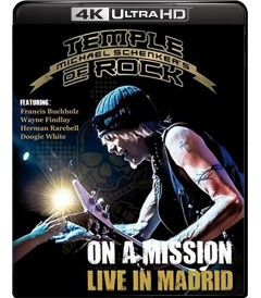 4K UHD - MICHAEL SCHENKER - TEMPLE OF ROCK (LIVE IN MADRID) - USADA