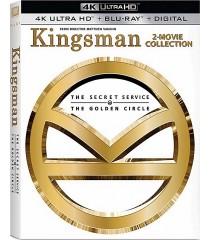 4K UHD - KINGSMAN (EL SERVICIO SECRETO) / (EL CÍRCULO DORADO) (PACK DOBLE)