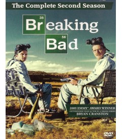 DVD - BREAKING BAD - 2° TEMPORADA (SIN ESPAÑOL) - USADA