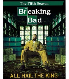 DVD - BREAKING BAD - 5° TEMPORADA
