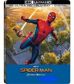 4K UHD - SPIDERMAN (DE REGRESO A CASA) (EDICIÓN EXCLUSIVA STEELBOOK BEST BUY)