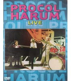 DVD - PROCOL HARUM LIVE - USADA