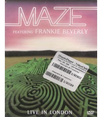 DVD - MAZE FEATURING FRANKIE BEVERLY (LIVE IN LONDON) - USADA