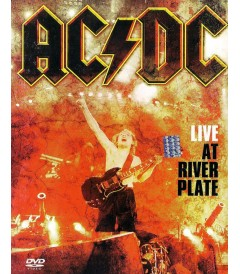 DVD - AC DC (LIVE AT RIVER PLATE) - USADA