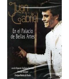 DVD - JUAN GABRIEL EN EL PALACIO DE BELLAS ARTES