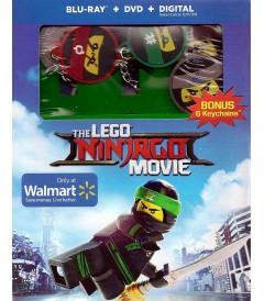 LEGO NINJAGO (LA PELÍCULA) (EDICIÓN EXCLUSIVA WALMART CON 6 LLAVEROS)