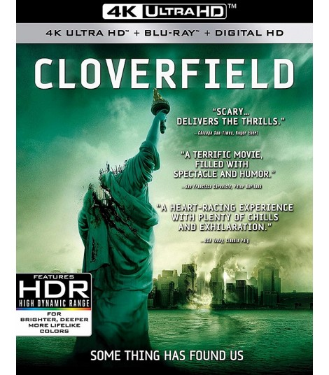4K UHD - CLOVERFIELD (MONSTRUO)