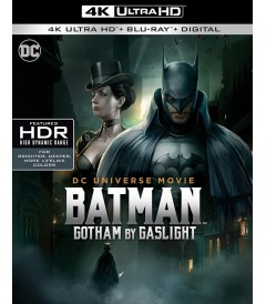4K UHD - BATMAN (GOTHAM BY GASLIGHT)
