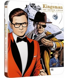 4K UHD - KINGSMAN (EL CÍRCULO DORADO) (STEELBOOK EXCLUSIVO BEST BUY)