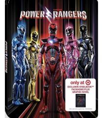 POWER RANGERS (EDICIÓN LIMITADA STEELBOOK TARGET INCLUYE NOVELA GRÁFICA)