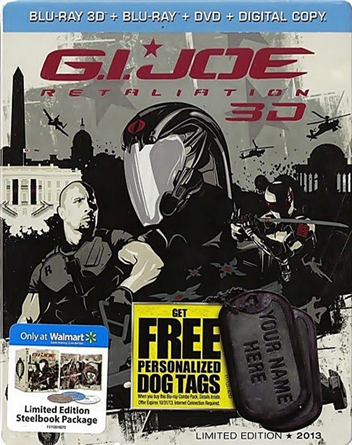 3D - G.I. JOE (EL CONTRAATAQUE) (EDICIÓN EXCLUSIVA STEELBOOK WALMART)