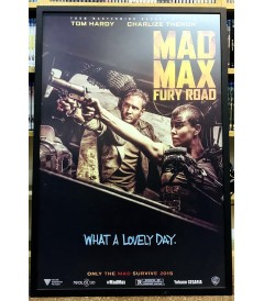 PÓSTER MAD MAX (FURIA EN EL CAMINO) (ENMARCADO)