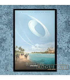 PÓSTER ROGUE ONE (UNA HISTORIA DE STAR WARS) (ENMARCADO)