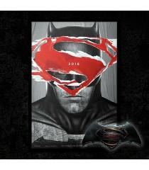 PÓSTER BATMAN VS SUPERMAN (EL ORIGEN DE LA JUSTICIA) (ENMARCADO)