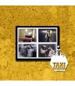 PÓSTER TAXI DRIVER (VERSIÓN 2) (PIEZA ÚNICA DE COLECCIÓN) (ENMARCADO INCLUYE PASPARTÚ)