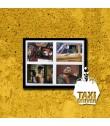 PÓSTER TAXI DRIVER (VERSIÓN 3) (PIEZA ÚNICA DE COLECCIÓN) (ENMARCADO INCLUYE PASPARTÚ)