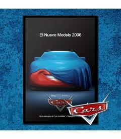 PÓSTER CARS (ENMARCADO)